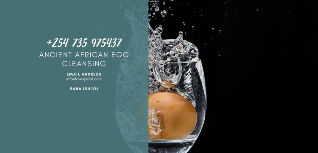 Ancient African Egg Cleansing