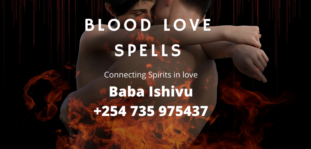 Blood Love Spells